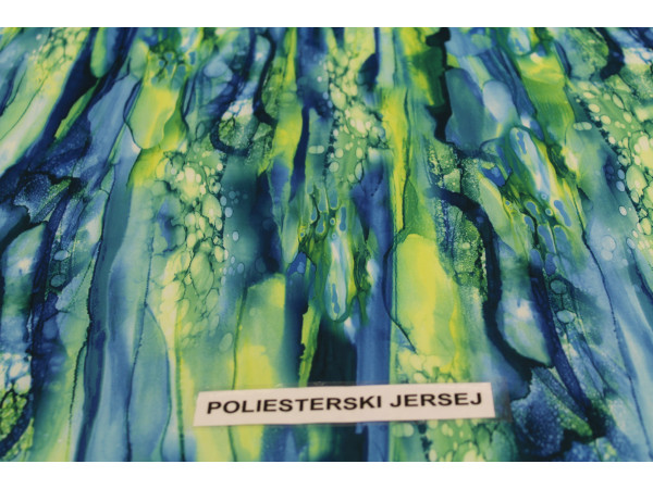 Jersey poliester digital- abstrakt
