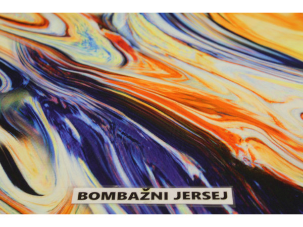 Jersey bombaž digital-abstrakt